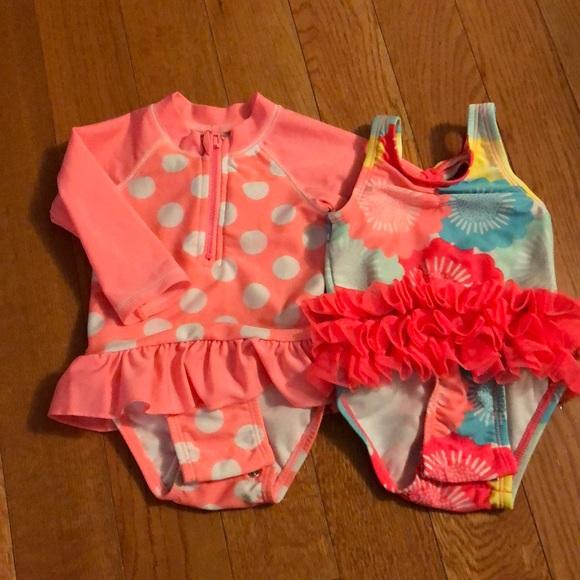 3f6d61fca3cb6 Cat & Jack Swim   36 Month Girls Bathing Suits   Poshmark